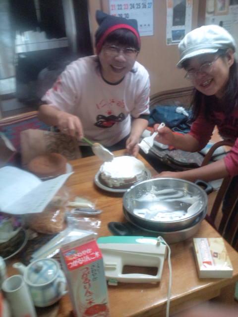 のりぶぅずお楽しみパーティ13日ケーキ作り 026