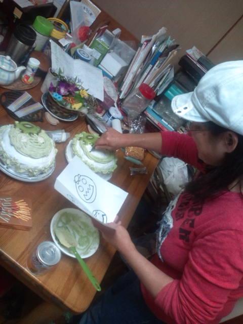 のりぶぅずお楽しみパーティ13日ケーキ作り 030