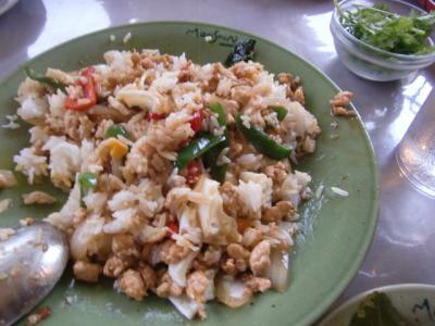 タイ米のチャーハン