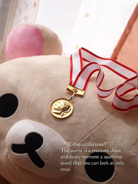 001金メダル^^
