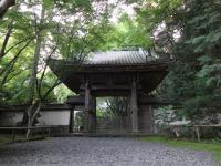 佐和山城への山門