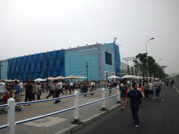 上海万博 ウズベキスタン館