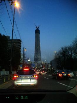 東京スカイツリーです