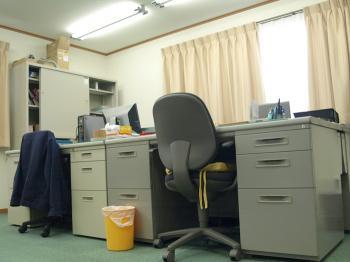信和技研とオーシスの合同事務所です。