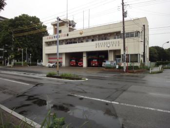北消防署の行田分署です。