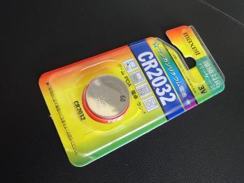ボタン電池を買ってきました。