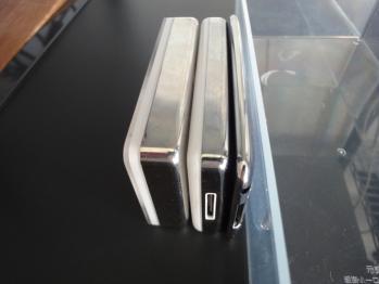 ipodの厚みを比較