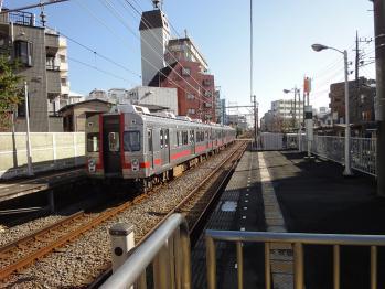 東急多摩川線を撮影