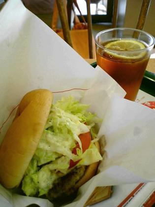 モスバーガー季節限定とびきりハンバーグサンド「L.T.」(スライスチーズ入り)2