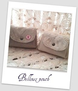 Bellows pouch