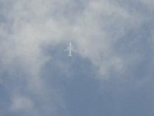 飛行機…。