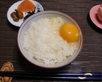 卵かけごはん(^o^)