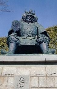 武田信玄公象。