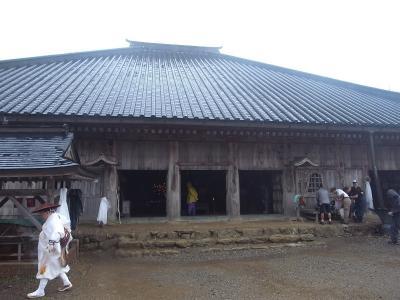 ⑫大峯山寺