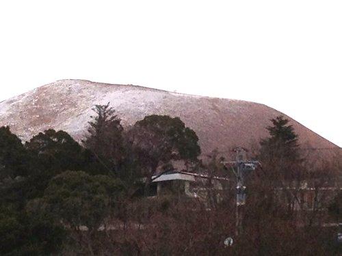 積雪の関所