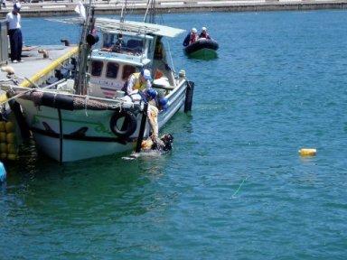 海難救助訓練4
