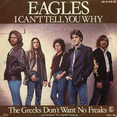 I Cant Tell You Why  Eagles
