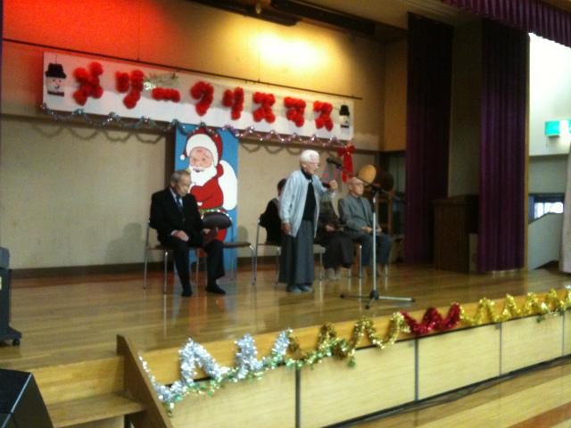 クリスマス会詩吟クラブ