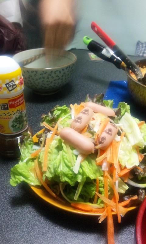 韓国風サラダ フォーゼ風