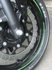 coated front wheel