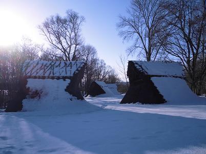 竪穴式住居 その1