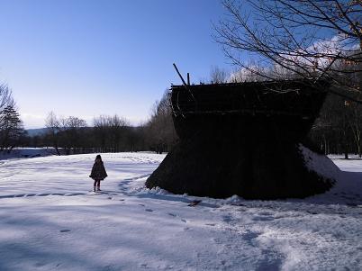 竪穴式住居 その2