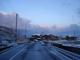 3月27日の雪