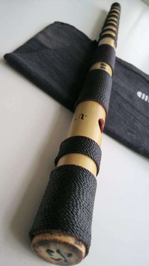 篠笛  『嚮晴』~Kyousei~ 唄物の篠笛 六本調子(総巻)出来ました♪
