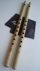 古典調 四本調子 天地巻 素竹