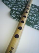 古典調 素竹 五本調子 指孔