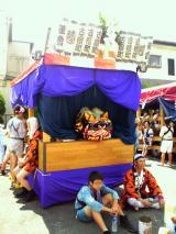 古宿の幌獅子屋台2