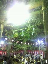 石段を上ると伊香保神社の大鳥居があります