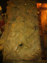 南横宿区の山車彫刻