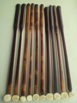 本煤竹真竹製