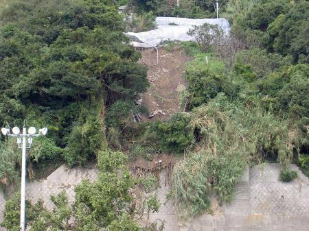 2011.9.20豪雨による山崩れ
