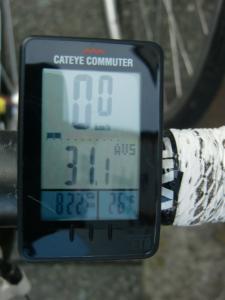 アベレージ31km