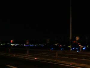夜の横田基地
