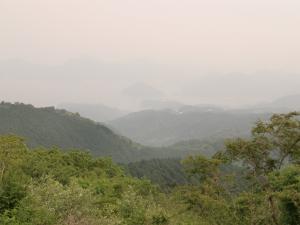 達磨山からのビュー…