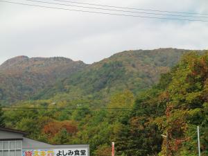 お山は紅葉