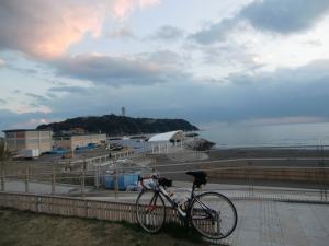 江の島 黄昏