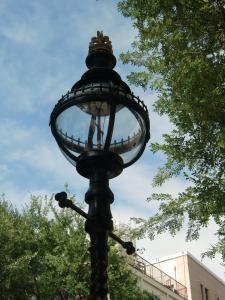 イギリス製のガス灯