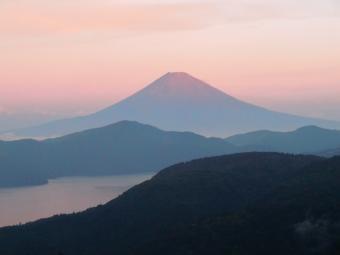 ちょっと赤富士