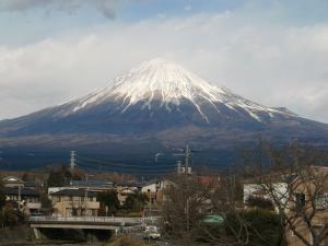 一日中見えた富士山