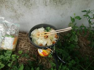 炒め物(!)