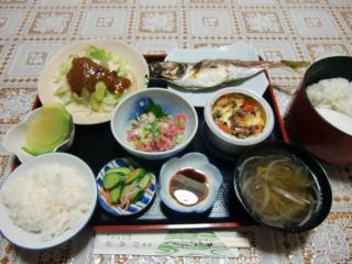 お宿の夕食