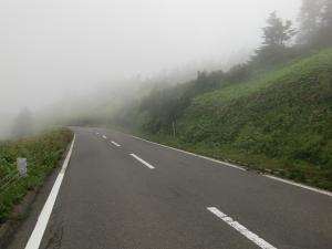 霧=雲の中