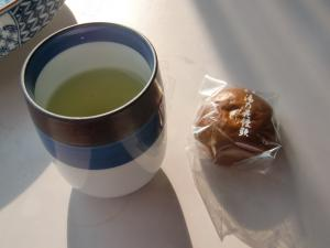 一杯のお茶