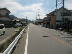 西嶋の集落