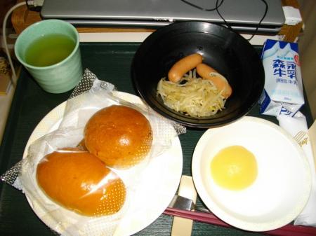 3月18日朝食