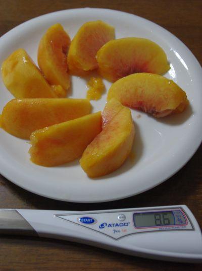 140913-黄桃糖度